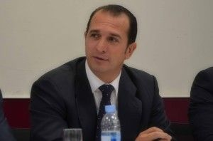 Federico Briano durante la conferencia Bonos Verdes