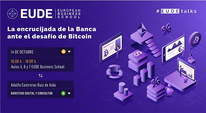 """Foto - Conferencia """"La encrucijada de la Banca ante el desafío de Bitcoin"""""""