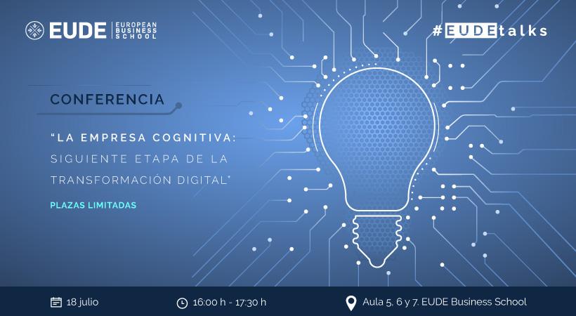 Foto de - Conferencia 'La empresa cognitiva: siguiente etapa de la transformación digital'