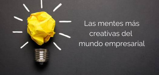 mentes más creativas